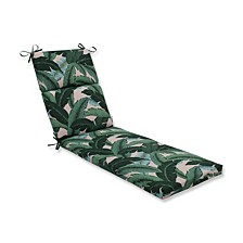 """Palms 21"""" x 72.5"""" Outdoor Chaise Lounge Cushion"""