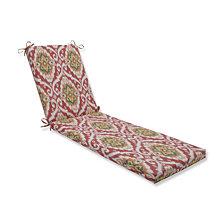 Ubud Coral Chaise Lounge Cushion