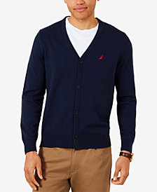Nautica Men's V-Neck Cardigan