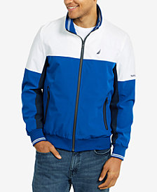 Nautica Men's Colorblocked Track Jacket