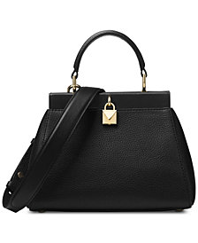 MICHAEL Michael Kors Gramercy Polished Leather Top Handle Satchel