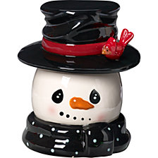 Snow Much Fun Snowman Cookie Jar