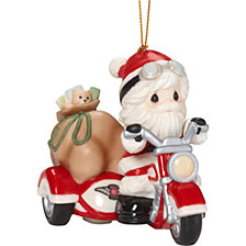 Here Comes Santa Claus Ornament