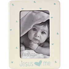 Jesus Loves Me 4 x 6 Photo Frame, Boy
