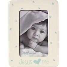 Jesus Loves Me 4 x 6 Photo Frame, Boy