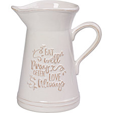 Bountiful Blessings Eat Pray Love Kitchen Utensil Holder