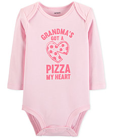 Carter's Baby Girls Pizza My Heart Cotton Bodysuit