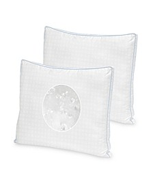 Cool Fusion Medium Density Pillow 2 Pack With Cooling Gel Beads