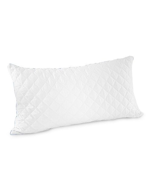 SensorGel Quilted Gel-Infused Memory Foam Cluster King Pillow 2 Pack, Created for Macy's