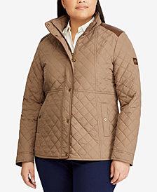 Lauren Ralph Lauren Plus Size Quilted Coat