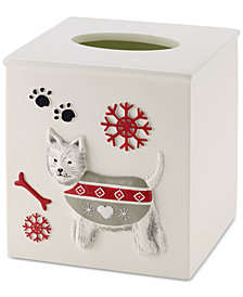 CLOSEOUT! Avanti Happy Pawlidays Tissue Cover