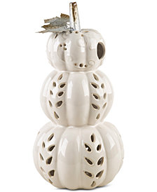 Home Essentials Stacking White Pumpkin