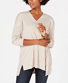 Style & Co High-Low Tunic Top, Created for Macy's