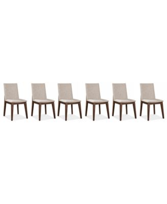 Crosby Dining Chairs, 6-Pc. Set (6 Side Chairs), Created for Macy's