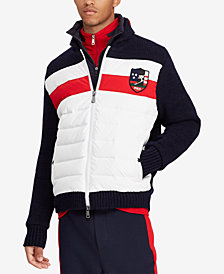 Polo Ralph Lauren Men's Downhill Skier Hybrid Jacket