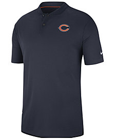 Nike Men's Chicago Bears Elite Coaches Polo 2018