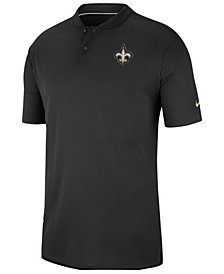 Nike Men's New Orleans Saints Elite Coaches Polo 2018