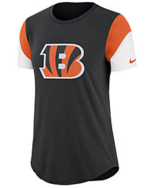 Nike Women's Cincinnati Bengals Tri-Fan T-Shirt