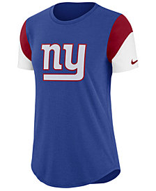 Nike Women's New York Giants Tri-Fan T-Shirt