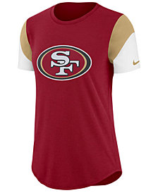 Nike Women's San Francisco 49ers Tri-Fan T-Shirt