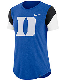 Nike Women's Duke Blue Devils Tri-Blend Fan T-Shirt