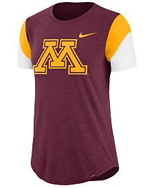 Nike Women's Minnesota Golden Gophers Tri-Blend Fan T-Shirt