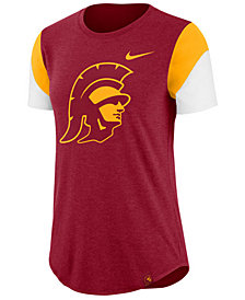 Nike Women's USC Trojans Tri-Blend Fan T-Shirt