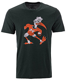 '47 Brand Men's Miami Hurricanes Throwback Club T-Shirt