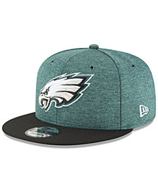 New Era Boys' Philadelphia Eagles Official Sideline Home 9FIFTY Stretch Fitted Cap 2018