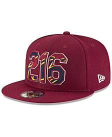 New Era Cleveland Cavaliers Area Code 9FIFTY Snapback Cap