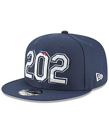 New Era Washington Wizards Area Code 9FIFTY Snapback Cap