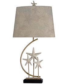 StyleCraft Sand Stone Table Lamp