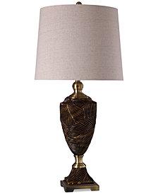 StyleCraft Sago Bronze Table Lamp