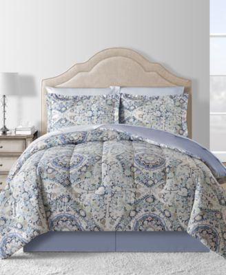 CLOSEOUT! Eva 6-Pc. Twin Comforter Set