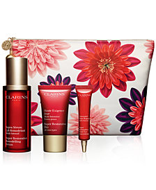 Clarins 4-Pc. Super Restorative Age-Defying Set