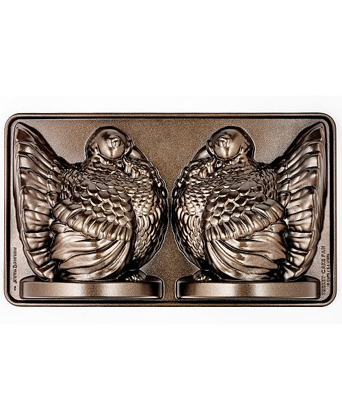 Martha Stewart Collection Turkey Mold Pan, Created for Macy's