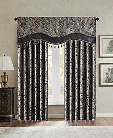 Aubrey Paisley Faux Silk Curtain & Valance Collection
