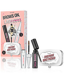 Benefit Cosmetics 3-Pc. Brows On, Lash Out! Brow & Mascara Set, A $39 Value!