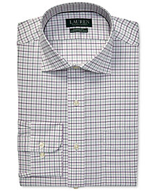 Lauren Ralph Lauren Men's Classic-Fit No-Iron Plaid Dress Shirt