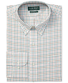 Ralph Lauren Men's Classic-Fit No-Iron Plaid Dress Shirt