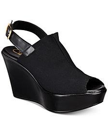 Callisto Breakdown Platform Wedge Sandals, Created for Macy's