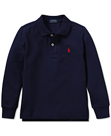 Polo Ralph Lauren Little Boys Cotton Long-Sleeve Polo Shirt