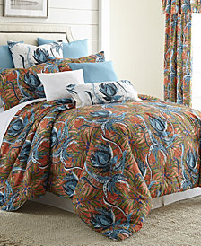 Tropical Bloom Comforter Set-Queen