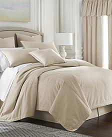 Cambric Vanilla Comforter-Twin