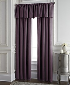 "Cambric Eggplant Lined Drapery Panel 52""x84"" - Each"