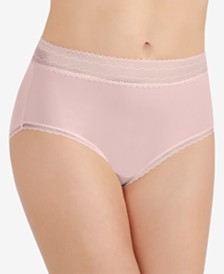 Vanity Fair Flattering Lace Stretch Brief 13281, also available in extended sizes