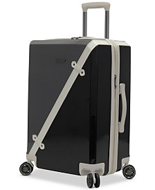 "CLOSEOUT! BCBG MAXAZARIA Luxe 24"" Hardside Spinner Suitcase"
