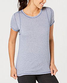 Calvin Klein Performance Inset Shoulder Seams T-Shirt
