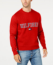 Tommy Hilfiger Men's Big & Tall Logo Sweatshirt, Created for Macy's