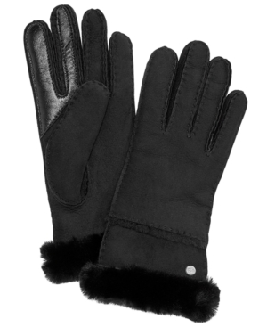Image of Ugg Stitched Slim Tech Gloves